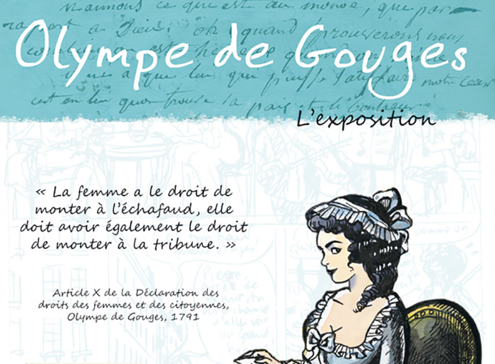 Normandiebulle Expositions Olympe de Gouges